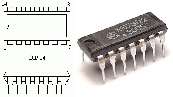 Внешний вид и корпус К157УД2