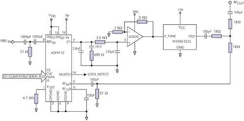 Схема широкодиапазонного