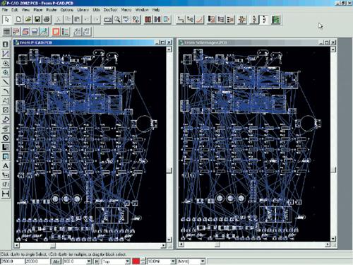 Программа для рисования и проверки работы электронной схемы.