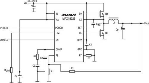 Схема преобразователя для питания светодиодов - 3.