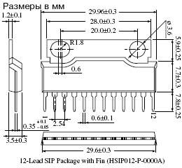 An7169 схема включения