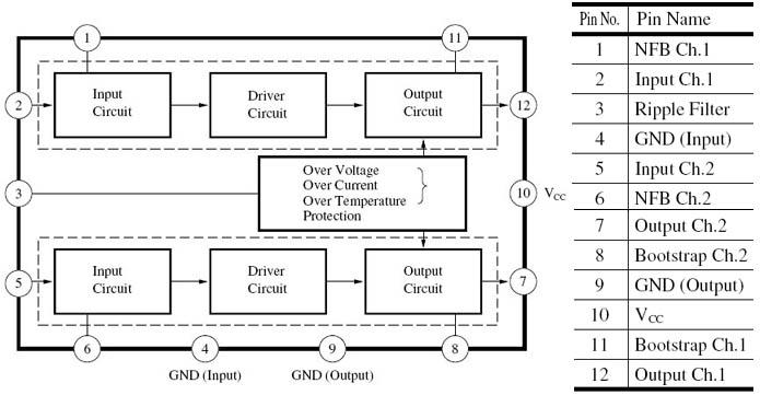 Блок-схема устройства и