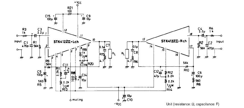 Усилитель мощности 200 Вт на микросхеме stk - 4050 с выходной мощностью 200 Ватт.  Есть микра stk4050v...