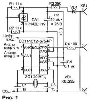 принципиальная схема передающего устройства